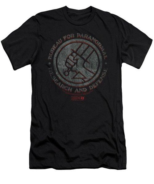 Hellboy II - Bprd Stone Men's T-Shirt (Athletic Fit)
