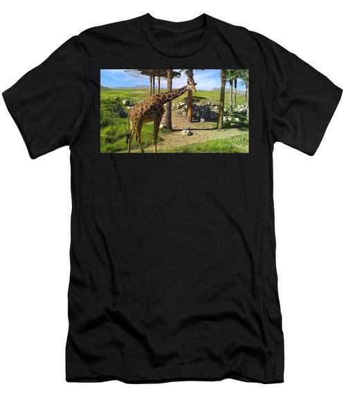 Men's T-Shirt (Slim Fit) featuring the photograph Hello There by Chris Tarpening