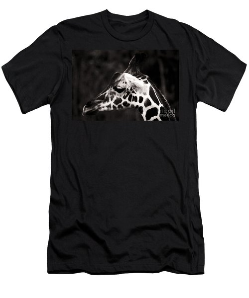 Men's T-Shirt (Slim Fit) featuring the photograph Hello Up There by Doc Braham