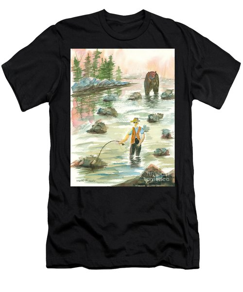 Help Is On The Way Men's T-Shirt (Athletic Fit)
