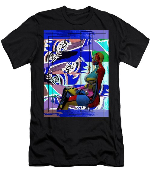 Her Abstract Journey Men's T-Shirt (Athletic Fit)