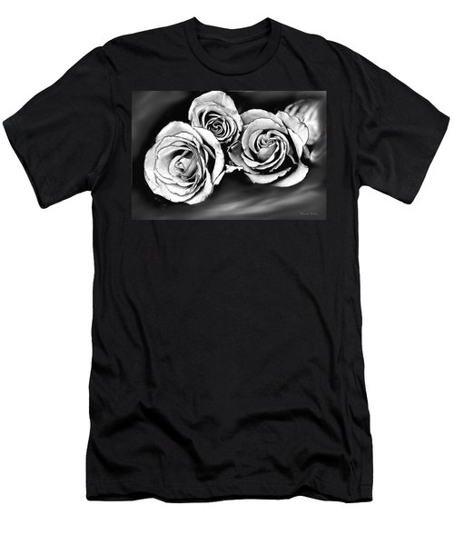 Her Roses Men's T-Shirt (Athletic Fit)