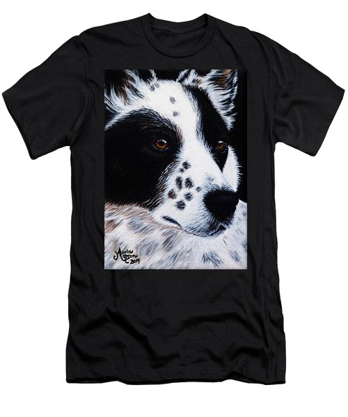 Herding Dog Men's T-Shirt (Athletic Fit)