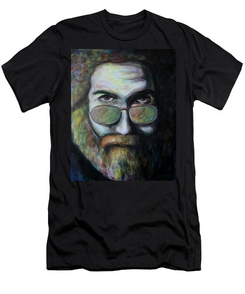 Men's T-Shirt (Athletic Fit) featuring the painting Here Come Jerry by Blake Emory