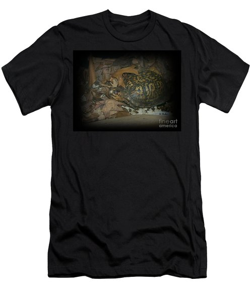 Men's T-Shirt (Slim Fit) featuring the photograph Here's Looking At You by Sara  Raber