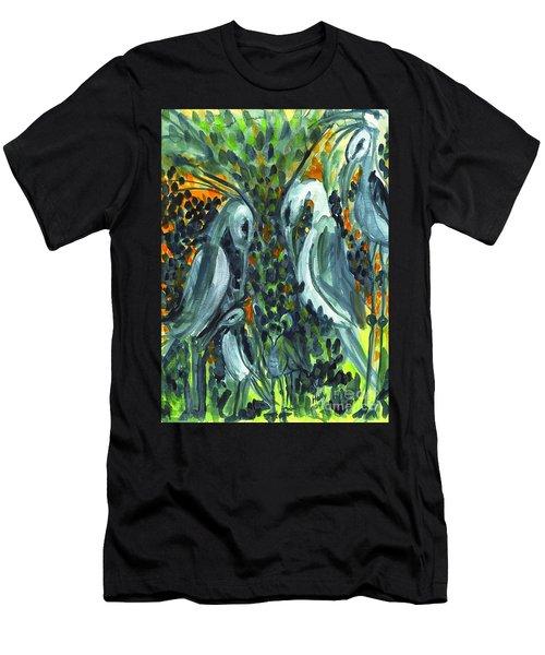 Herons Men's T-Shirt (Athletic Fit)