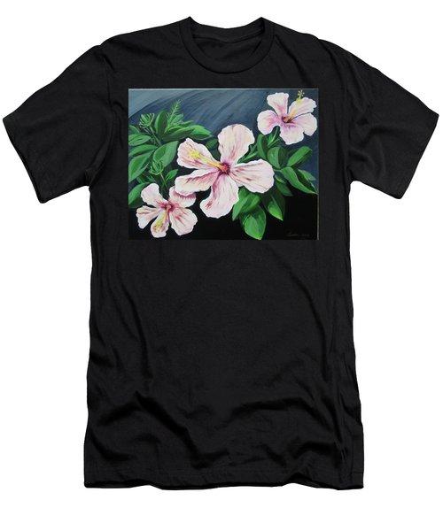 Hibiscus No. 1 Men's T-Shirt (Athletic Fit)