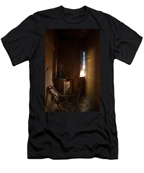 Men's T-Shirt (Slim Fit) featuring the photograph Hidden In Shadow by Fran Riley