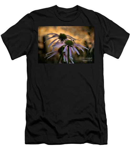 Men's T-Shirt (Slim Fit) featuring the photograph Hiding In The Shadows by Peggy Hughes