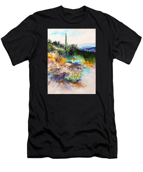 High Desert Scene 2 Men's T-Shirt (Athletic Fit)
