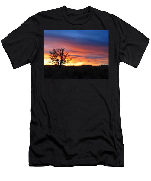 Men's T-Shirt (Slim Fit) featuring the photograph High Desert Sunset by Kevin Desrosiers