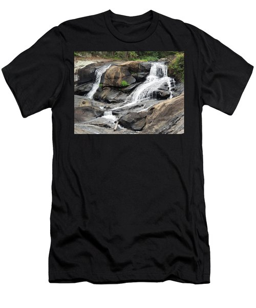 High Falls Men's T-Shirt (Slim Fit) by Aaron Martens