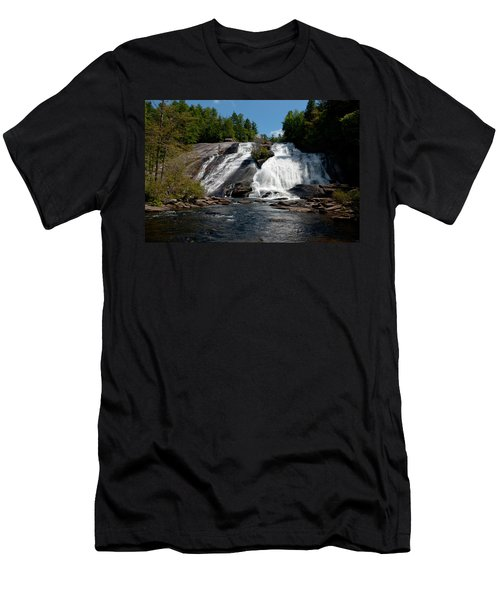 High Falls North Carolina Men's T-Shirt (Athletic Fit)