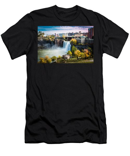 High Falls Rochester Men's T-Shirt (Athletic Fit)