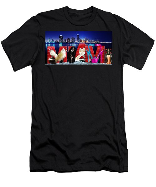 High Heels Miami Men's T-Shirt (Athletic Fit)