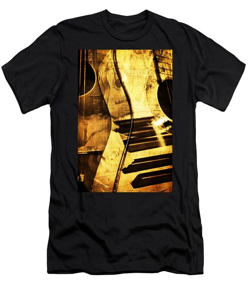 High On Music Men's T-Shirt (Athletic Fit)