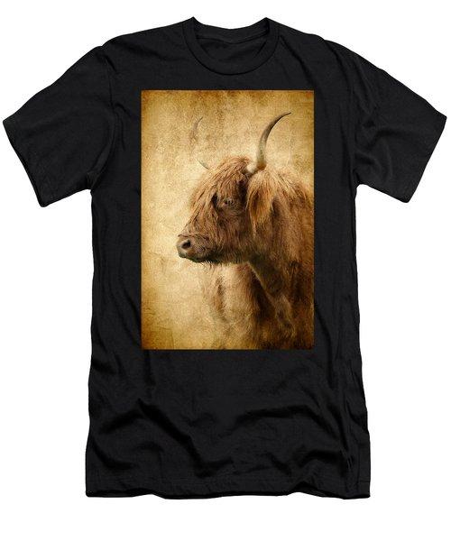 Highland Bull Men's T-Shirt (Athletic Fit)