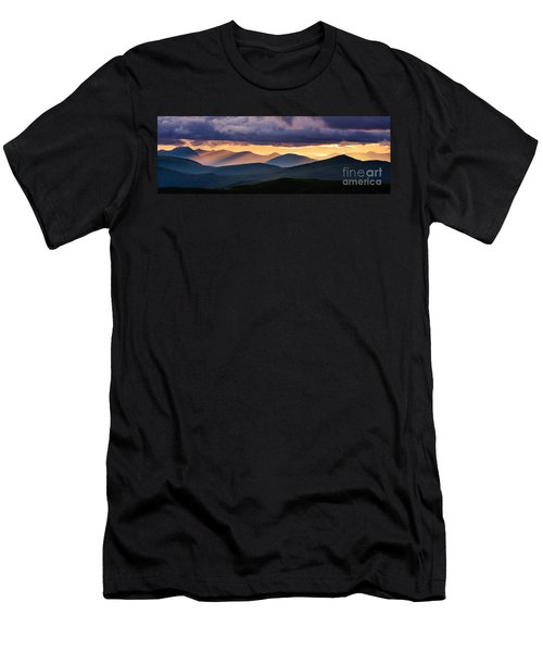 Scottish Highlands From Meall Nan Tarmachan Men's T-Shirt (Athletic Fit)