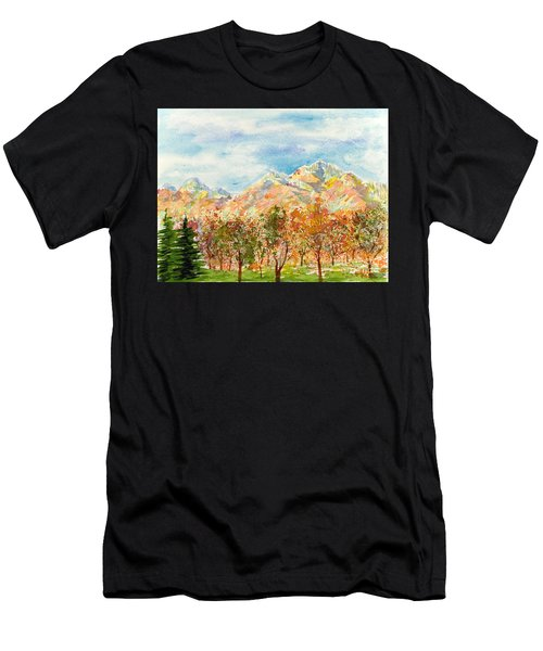 Highlands Autumn Men's T-Shirt (Athletic Fit)