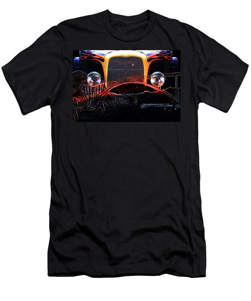 Men's T-Shirt (Athletic Fit) featuring the photograph Highway To Hell by Gunter Nezhoda