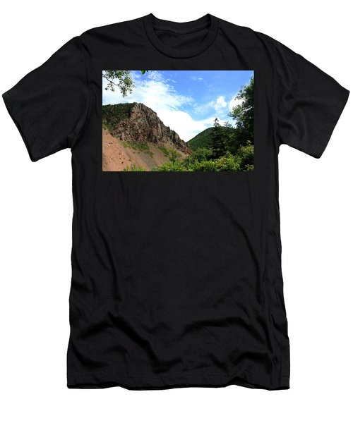 Men's T-Shirt (Slim Fit) featuring the photograph Hills by Jason Lees