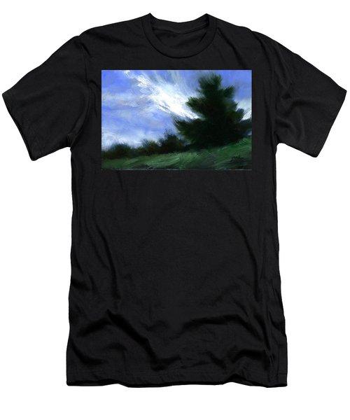 Hillside Breeze Men's T-Shirt (Athletic Fit)