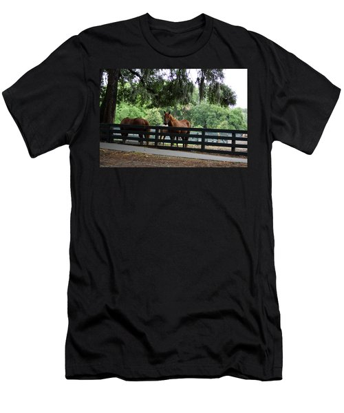 Hilton Head Island Beauty Men's T-Shirt (Athletic Fit)