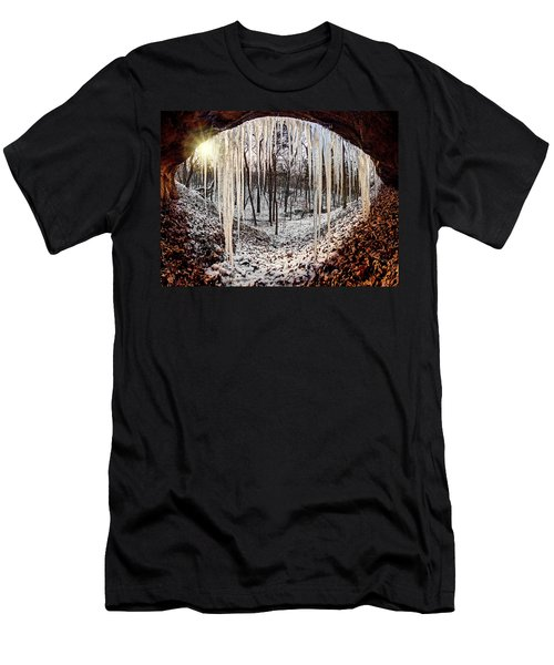 Hinding From Winter Men's T-Shirt (Athletic Fit)
