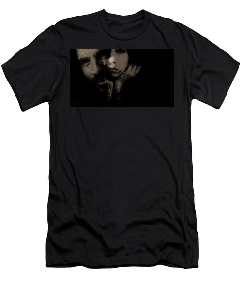 Men's T-Shirt (Slim Fit) featuring the photograph His Amusement Her Content  by Jessica Shelton