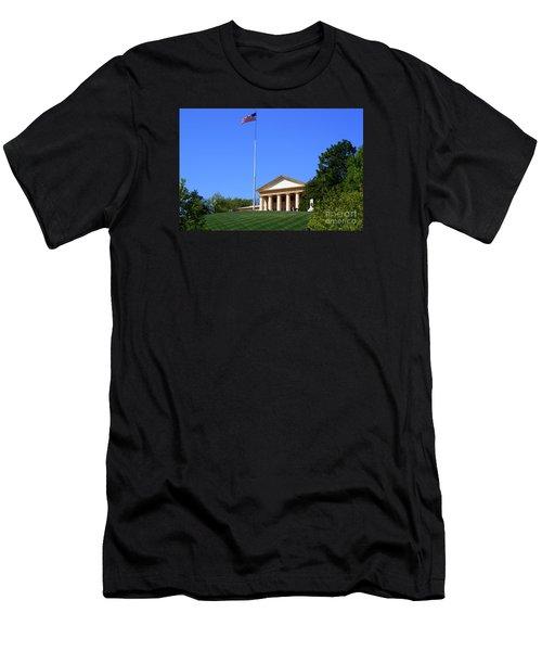 Historic Arlington House Men's T-Shirt (Slim Fit) by Patti Whitten