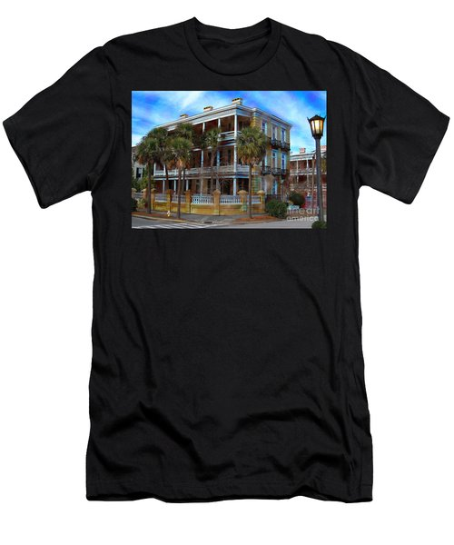 Historic Charleston Mansion Men's T-Shirt (Athletic Fit)