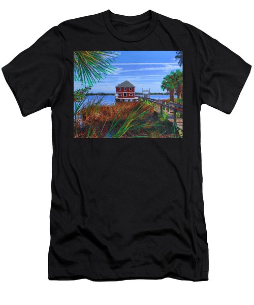 Historic Ormond Boathouse Men's T-Shirt (Athletic Fit)