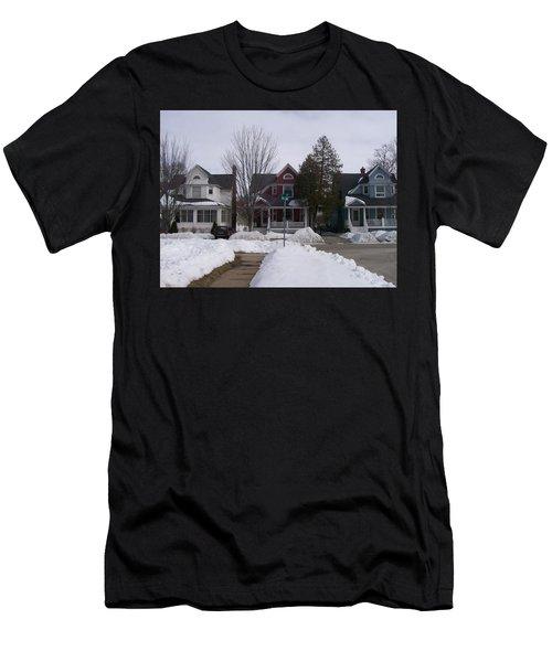 Historic Seventh Street Menominee Men's T-Shirt (Athletic Fit)