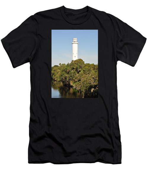 Historic Water Tower - Sulphur Springs Florida Men's T-Shirt (Athletic Fit)