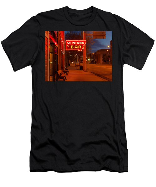 Historical Montana Bar Men's T-Shirt (Athletic Fit)