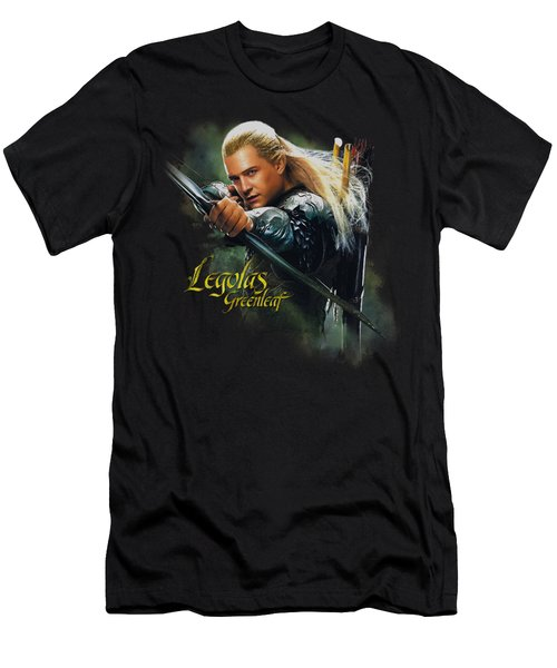 Hobbit - Legolas Greenleaf Men's T-Shirt (Athletic Fit)