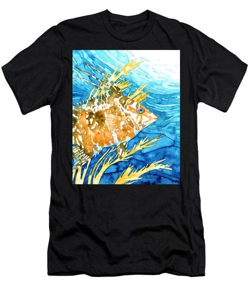 Hogfish Portrait Men's T-Shirt (Athletic Fit)