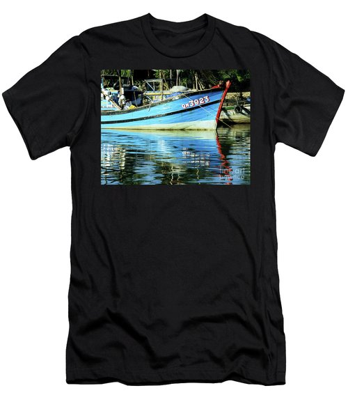 Hoi An Fishing Boat 01 Men's T-Shirt (Athletic Fit)