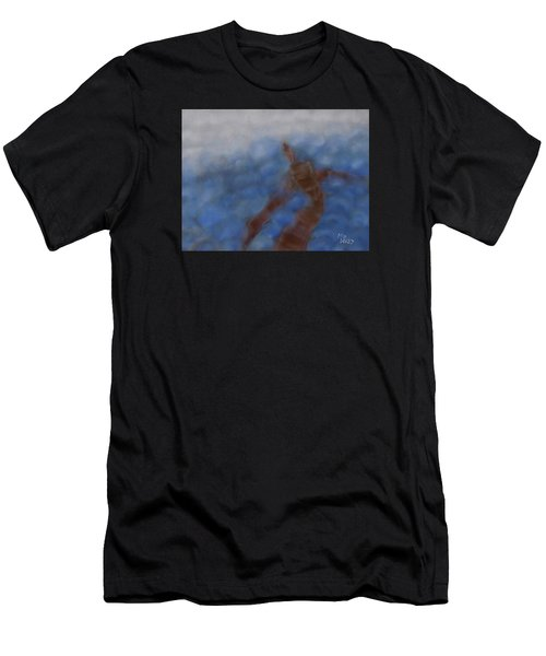 Hold The World Men's T-Shirt (Athletic Fit)