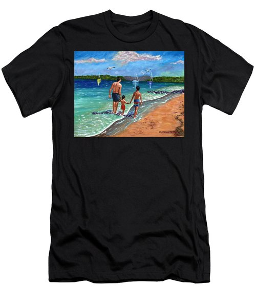 Holding Hands Men's T-Shirt (Athletic Fit)