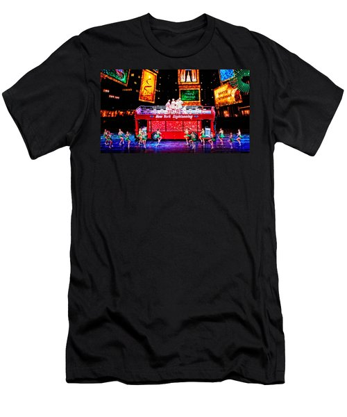 Holiday Sightseeing Men's T-Shirt (Slim Fit) by Mike Martin