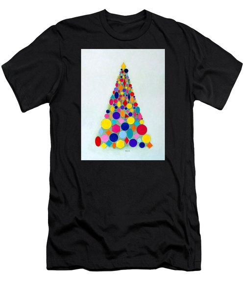 Holiday Tree #1 Men's T-Shirt (Athletic Fit)