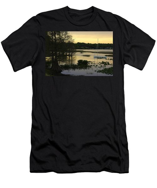 Hollingsworth Sunset Men's T-Shirt (Slim Fit) by Laurie Perry