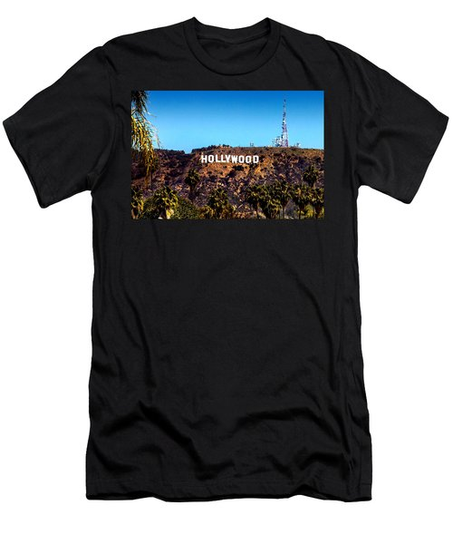 Hollywood Sign Men's T-Shirt (Athletic Fit)