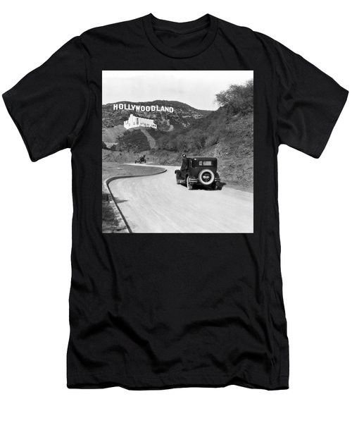 Hollywoodland Men's T-Shirt (Athletic Fit)
