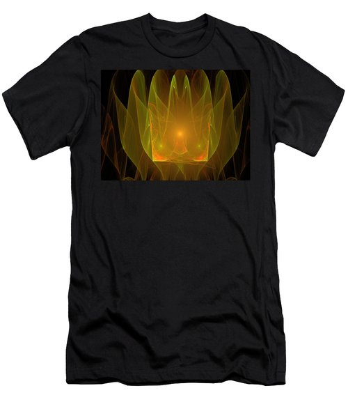Holy Ghost Fire Men's T-Shirt (Slim Fit) by Bruce Nutting