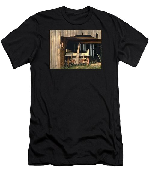 Misner's Wagon Men's T-Shirt (Slim Fit) by Michael Swanson