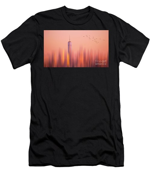Towards Freedom Men's T-Shirt (Athletic Fit)