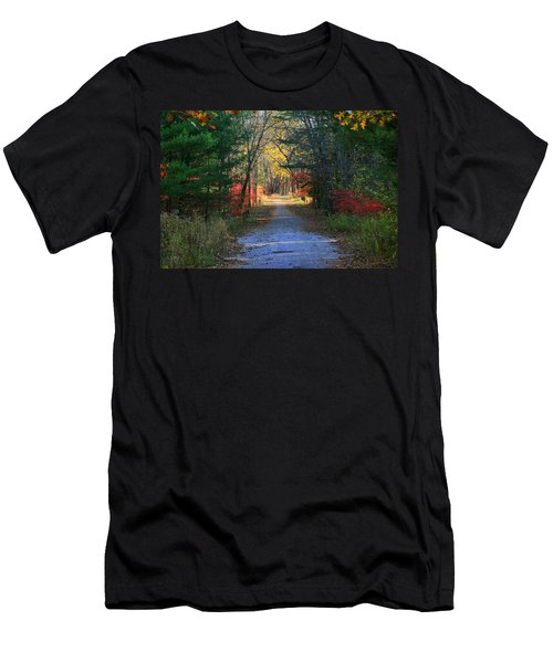 Men's T-Shirt (Slim Fit) featuring the photograph Homeward Bound by Neal Eslinger
