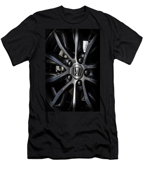Honda Wheel Men's T-Shirt (Athletic Fit)